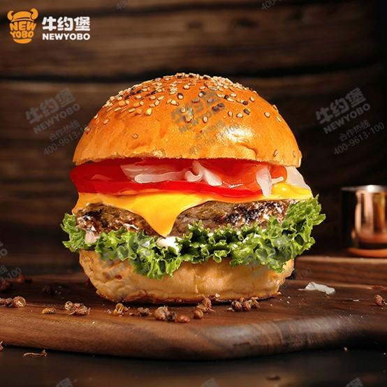 加盟热讯!网红NewYoBo牛约堡汉堡店加盟方式!